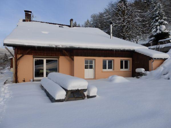 La terrasse en hiver
