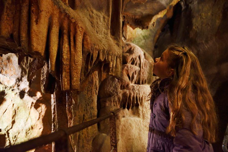 Grottes de Saulges en Mayenne