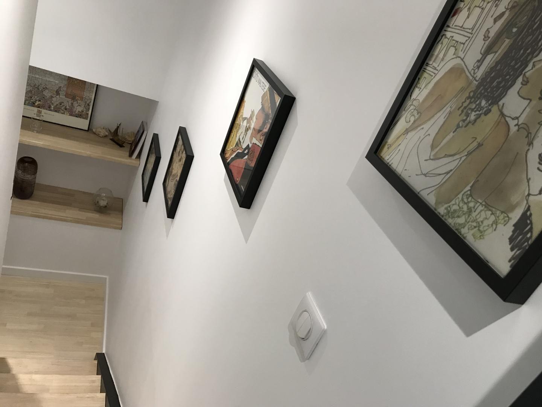 couloir montée chambre duplex