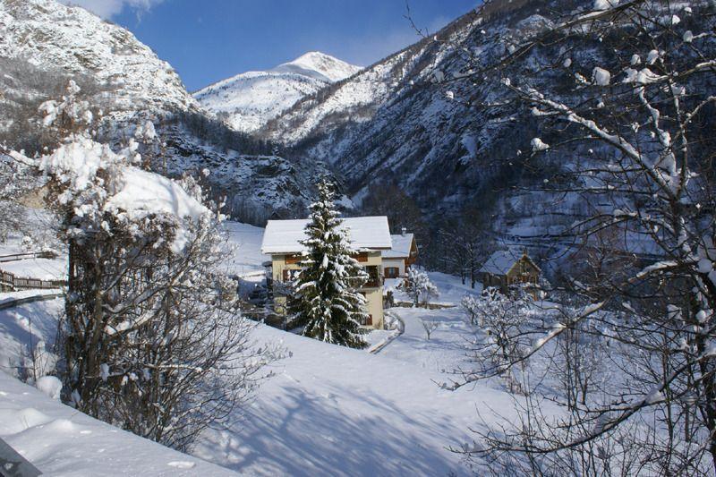 le gîte sous la neige