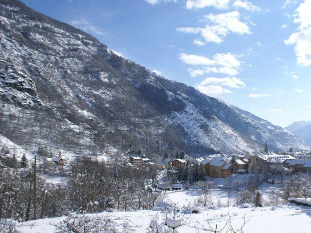 la vue du village depuis le Jardin
