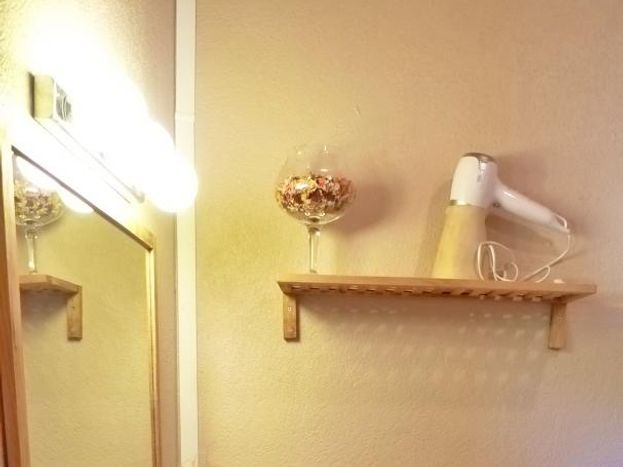 La vasque de la salle d'Ô