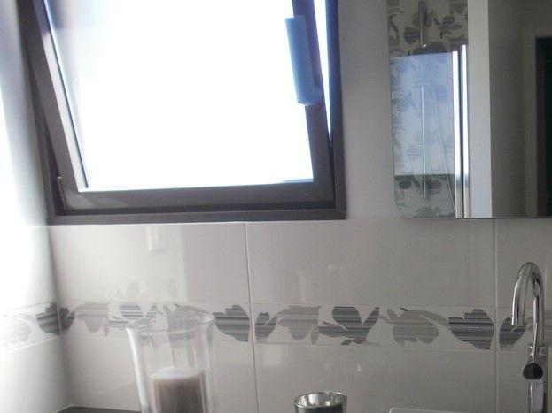Salle d'eau chambre cuir