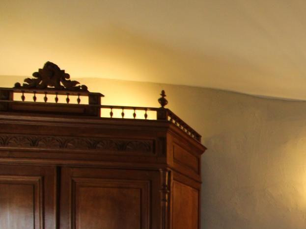 """Chambre n°3 """"Orgnac"""" : lit 160, Salle d'eau / WC privatifs"""