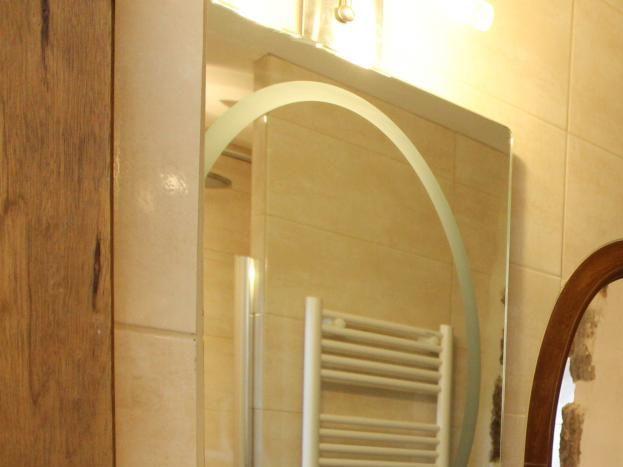 Salle d'eau de la chambre 4 - Douche à l'italienne