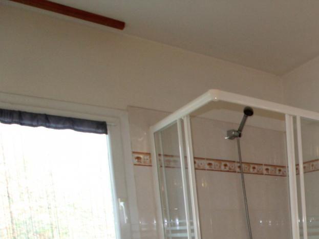 Salle de bain à l'étage gîte Le Gournier