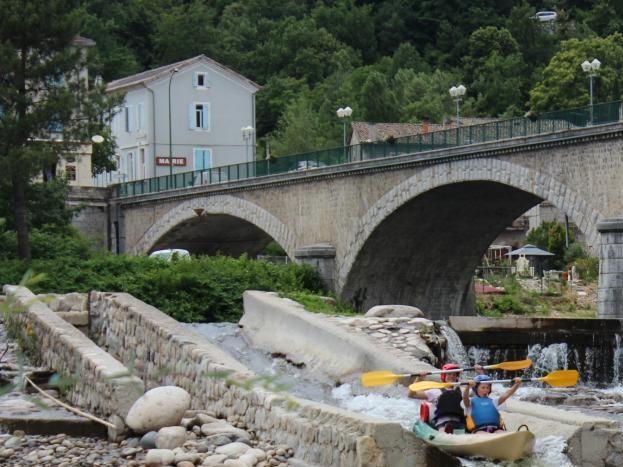 Canoë-kayak la vallée de L'Eyrieux 15 km