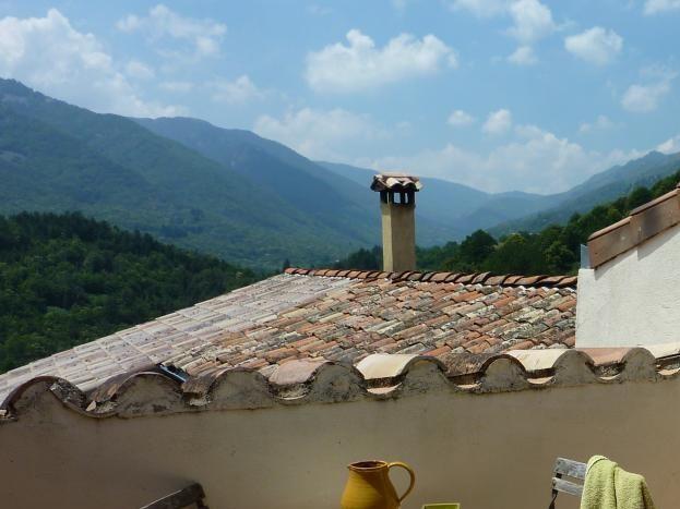 ...et sa terrasse privée
