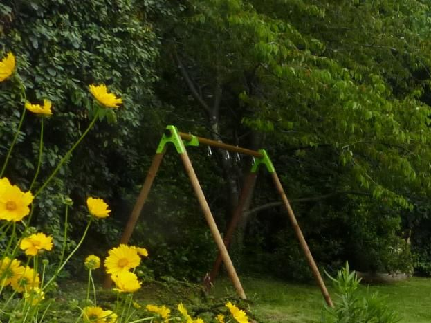 les meubles de jardin en acacia, fabriqués par +Gil