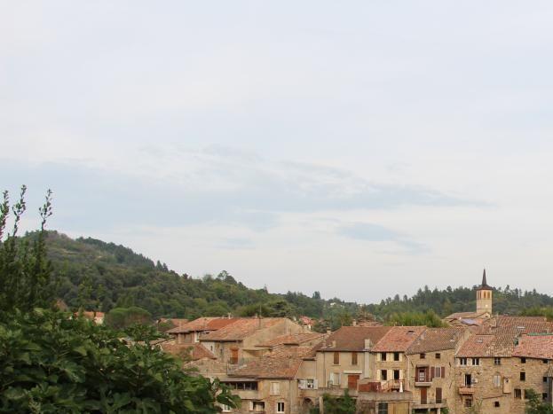 Jaujac, village de catactère...