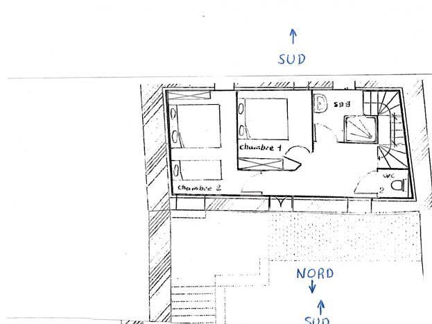 Plan détaillée du gite