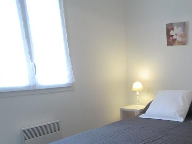 chambre rez de chaussée, lits en 160