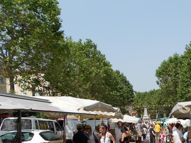 Le marché du samedi matin