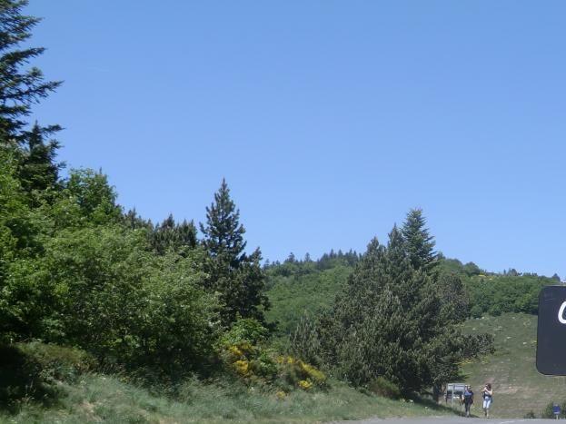 Col de Meyrand situé au dessus du village