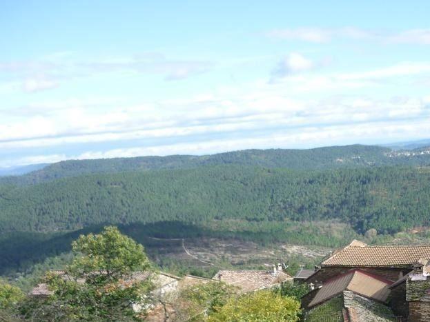 vue du hameau du  mas