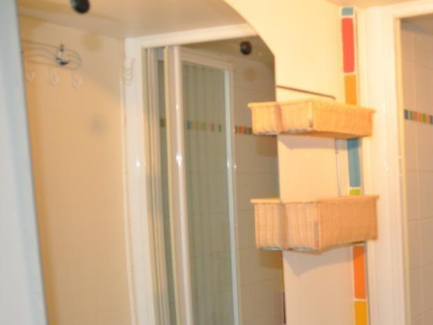 salle d'eau avec wc privatif attenant à salon/:chambre au rez de chaussée