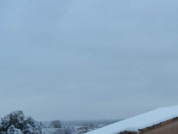 gite vue est en  hiver