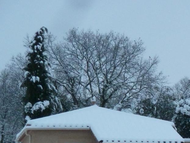 hiver, coté sud ouest