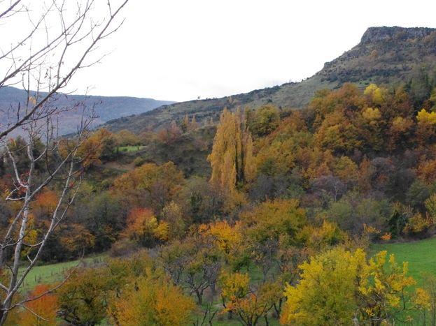 La Rompade en automne