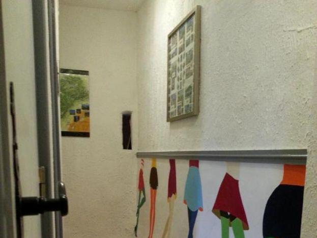Couloir vers les chambres