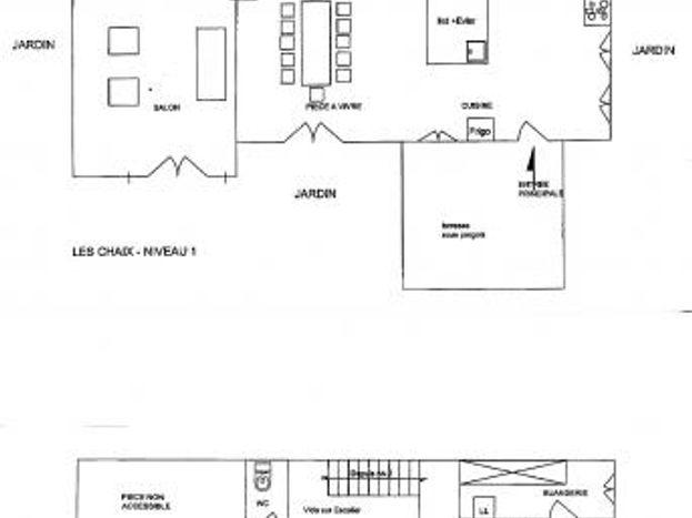 Le plan de la maison
