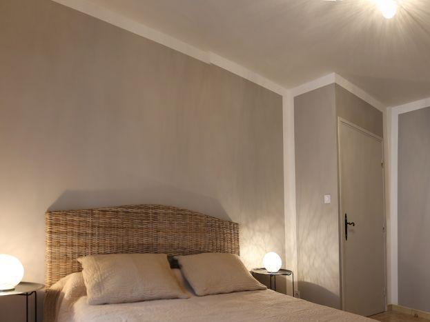 2éme chambre avec un grand lit +un lit en 90
