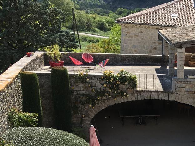 Le domaine du viticulteur Vacances en famille  Les Salelles St Maurice d ibie Proche Vallon Pont d?Arc
