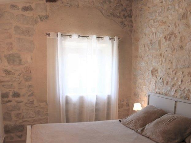 1er Chambre grand lit avec un lit tiroir
