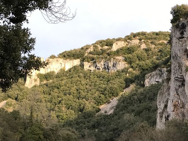 l'ibie, la digue, le trou de la lune Route de Vallon Pont d'Arc