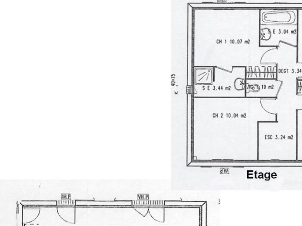 Plan de la maison / House plan