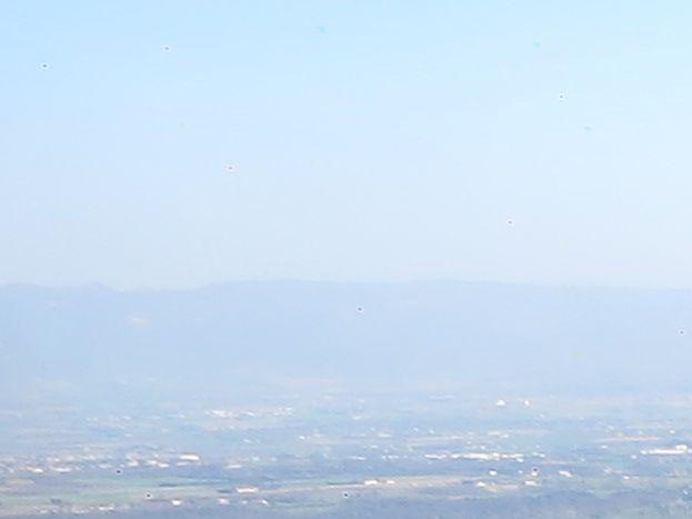 Alentour le Rhône et son canal ,La Roche de Glun vu d'ULM