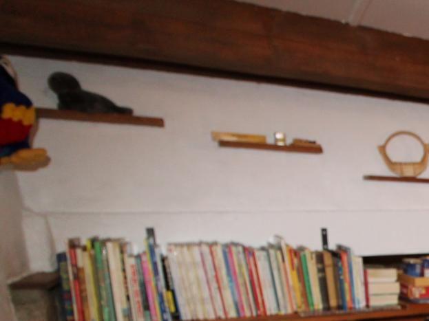 la mezzanine avec espaces jeux et lecture