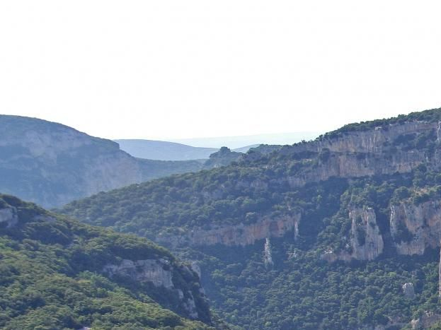 l'Ardèche et ses forêts de  chênes vert