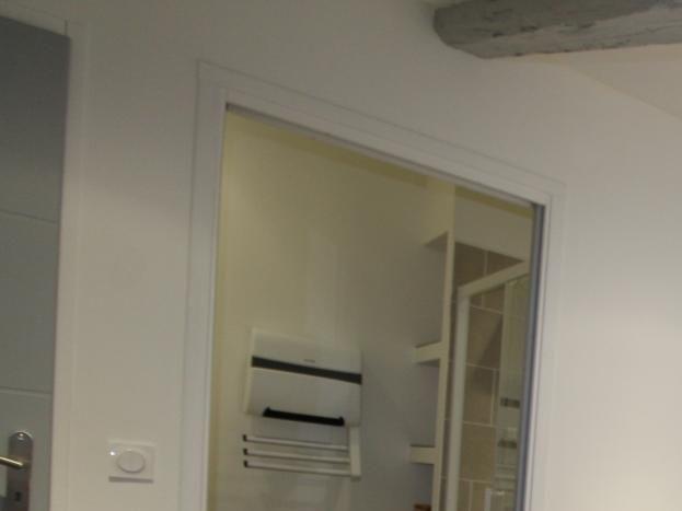 Chambre double/twin avec salle d'eau privée (lit en 160 x 200 ou 2 lits séparés sur demande)