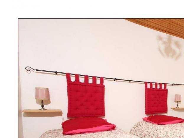 Chambre,avec 2 lits de 90