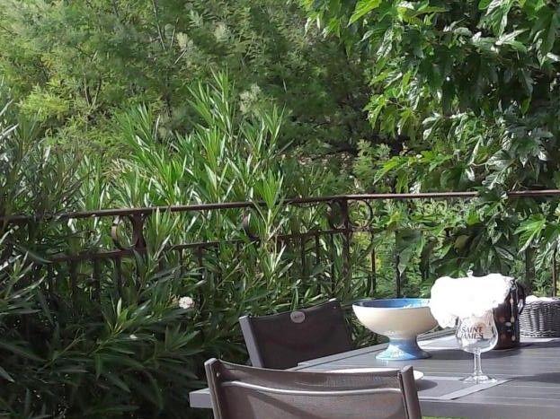 terrasse de la maison d'Aurée
