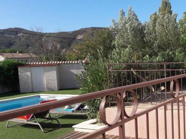maison d'Aurée piscine terrasse