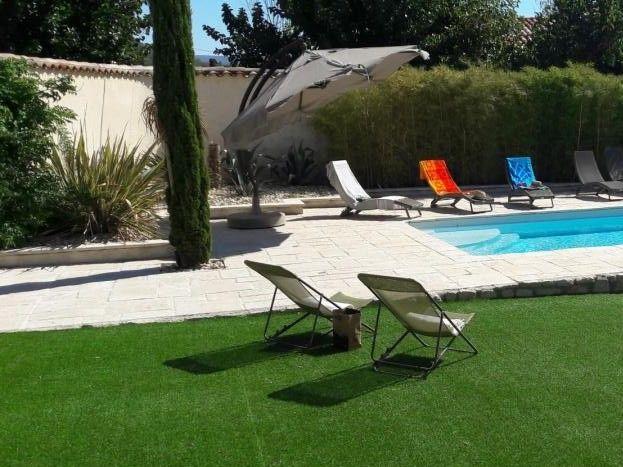 maison d'Ambre piscine