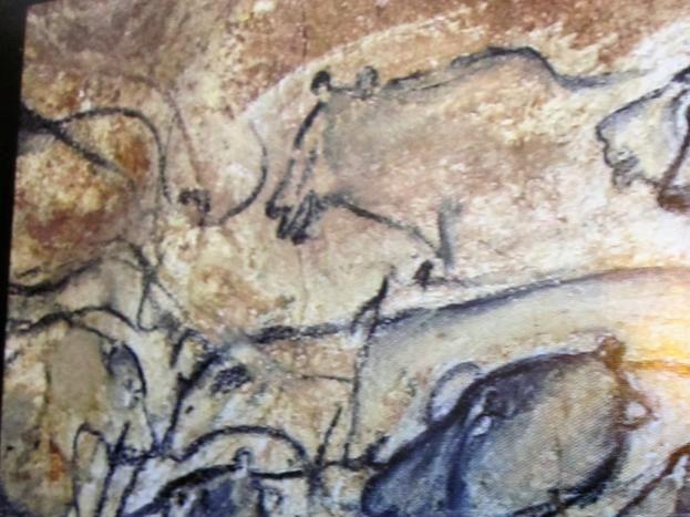 """Restitution de la grotte """" Chauvet """" Chef d'oeuvre de l'Homme"""