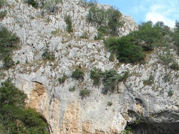 Pont d'arc, entrée des gorges de l'Ardèche