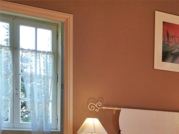 chambre Venise du 1° étage : 2 lits simples côte à côte ou séparés