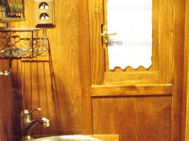 salle d'eau de la roulotte