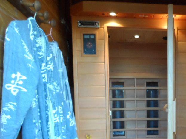 le sauna Mas du Tracol