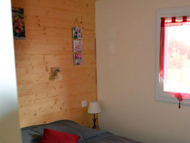 chambre lit 140 houx et buis