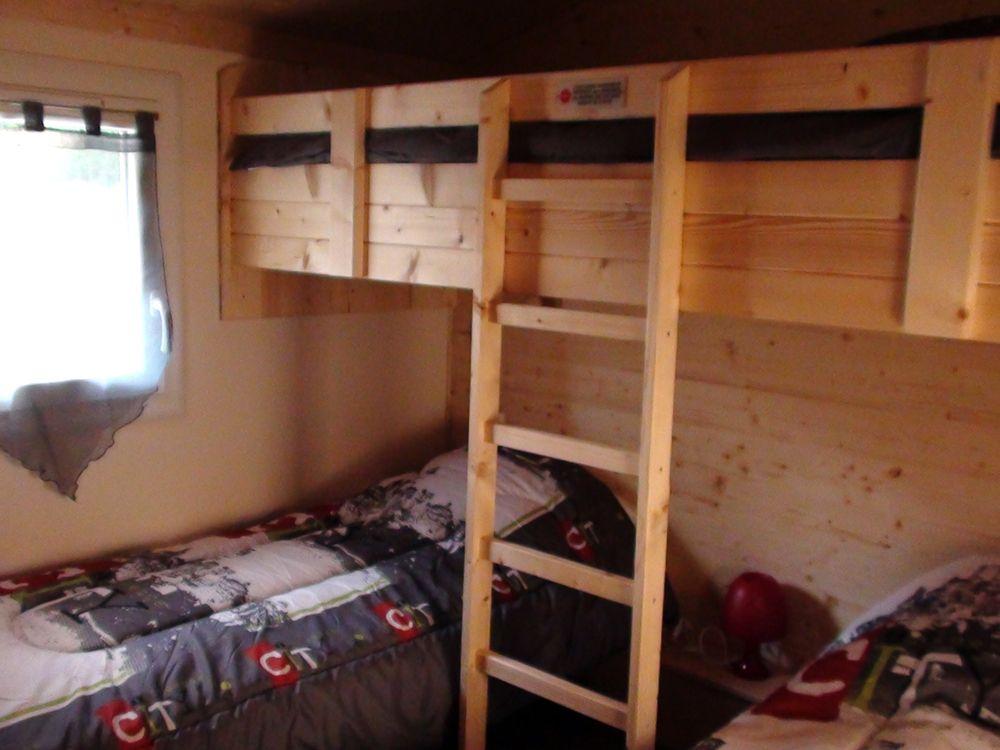 chambre 3 lits, houx et buis
