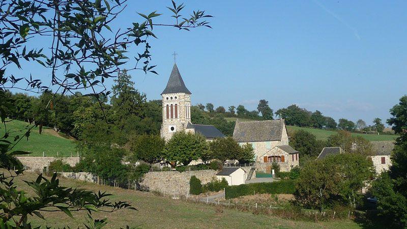 Gîte contre l'église Village de Bor