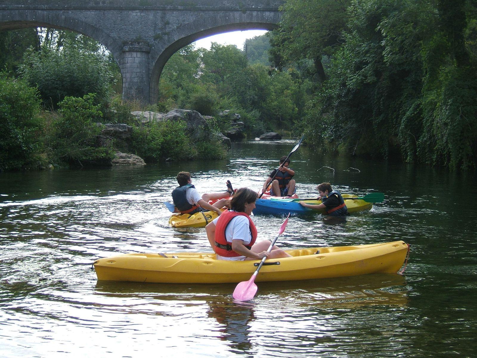 La descente du Tarn en canoé