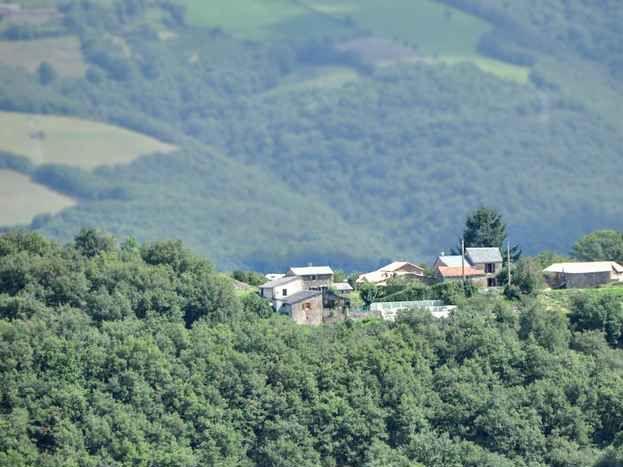 vue Sud du hameau de Sajac