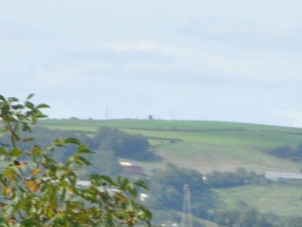 vue à partir du Nord du hameau ( côté vallée du Tarn )