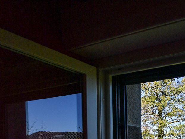 vue extérieure depuis la chambre 1